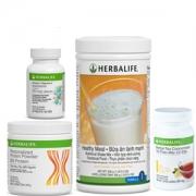 HERBALIFE - Bộ 4 sản phẩm hỗ trợ giảm cân nâng cao (F1, F2, PPP, Trà)