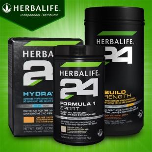 Bộ sản phẩm dinh dưỡng thể thao Herbalife 24